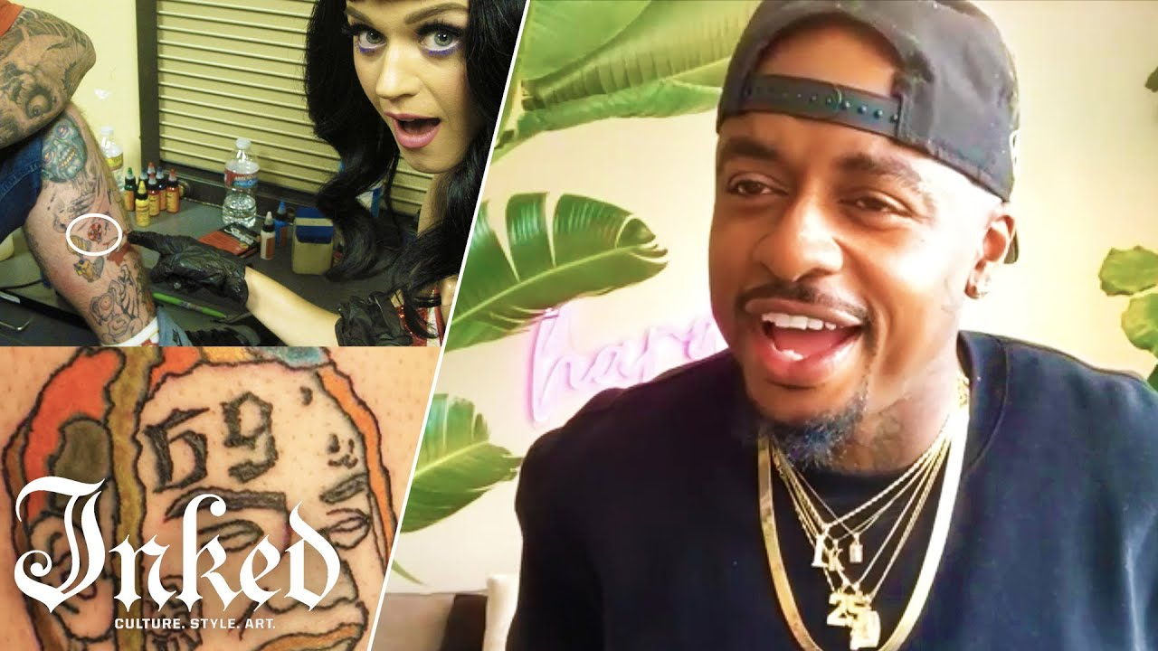 Tattoos Done by Katy Perry, Post Malone, Margot Robbie & Others | Tattoo Artists React