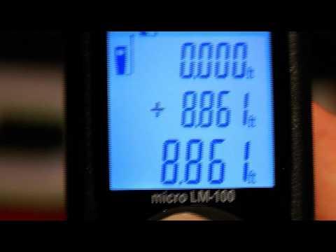 Entfernungsmesser Ridgid Lm 100 : Ridgid micro lm laser distance meter youtube