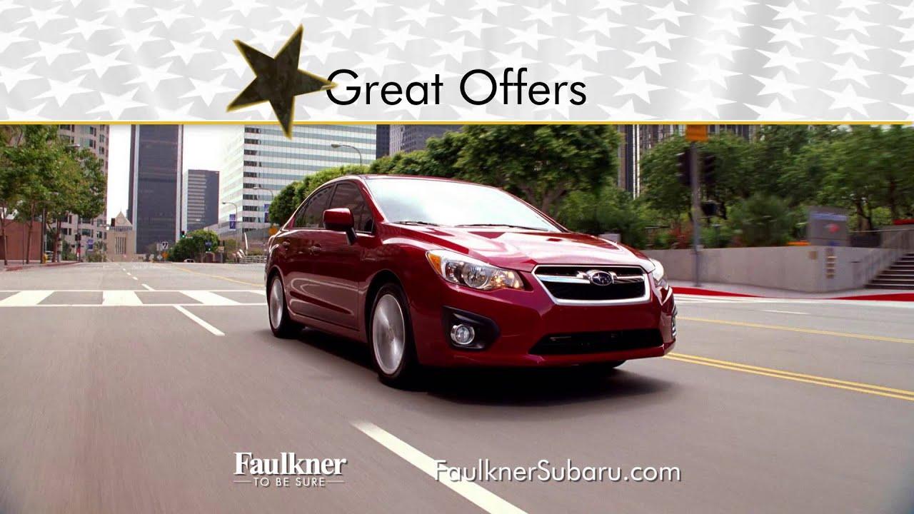 Faulkner Subaru of Harrisburg Presidents Day Event