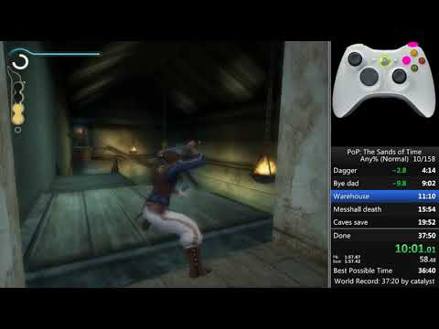 Prince of Persia Sands of Time any% 37:07 [WR]
