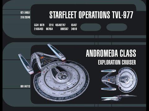 "STAR TREK ONLINE HD Andromeda Class in ""All That Glitters"" (2015)"