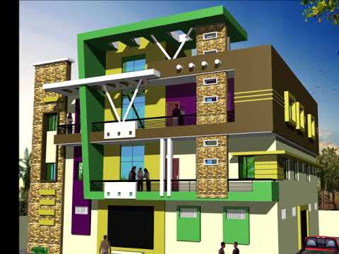 3 STORY HOME ELEVATIONS