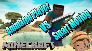 Minecraft Mod [ Smart Moving & Animated player ] 1.7.10 Nuevos Movimientos