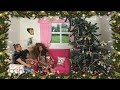 Barbie Sisters Christmas Decorating Routine & Holiday Shopping! | Naiah and Elli Doll Show #11