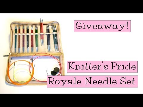 Giveaway!  Knitter's Pride Royale Interchangeable Needle Set