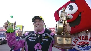Doug Kalitta is back in the Winner's Circle in Vegas