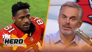 Tom Brady can't control Antonio Brown, Colin unveils his 'Quarter-bank' tiers   NFL   THE HERD