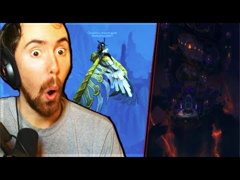 Asmongold Learns to FLY IN BFA & Gets out of Nazjatar