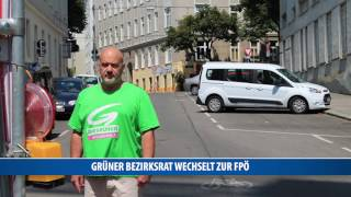 Grüner Bezirksrat wechselt zur FPÖ