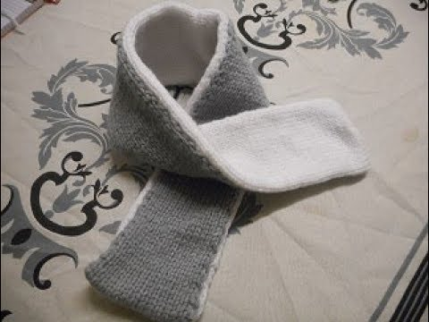 tutot tricot charpe b b youtube. Black Bedroom Furniture Sets. Home Design Ideas