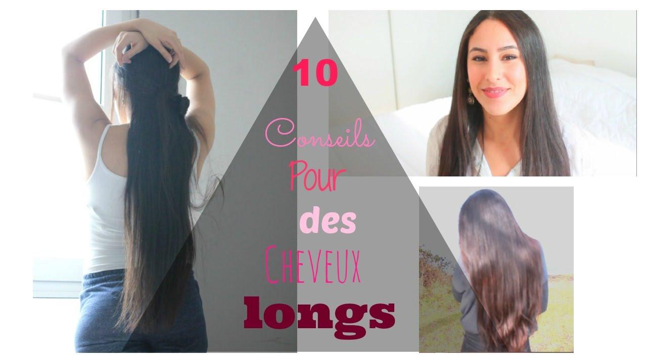 10 conseils pour des cheveux tr s longs youtube. Black Bedroom Furniture Sets. Home Design Ideas