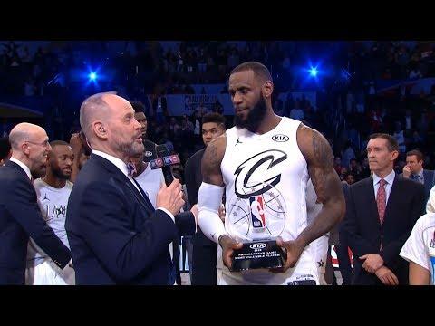 LeBron James - MVP Of The Game / Team LeBron vs Team Stephen / 2018 NBA All-Star Game
