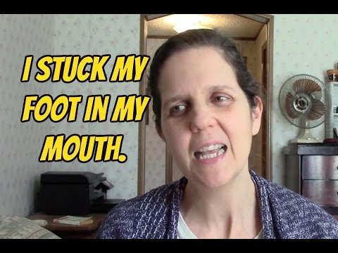I Stuck My Foot In My Mouth /Daily Vlog 2/11/16