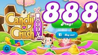 Candy Crush Soda Saga Level 888 No Boosters