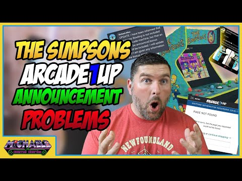 Arcade1Up The Simpsons Announcement Problems from MichaelBtheGameGenie