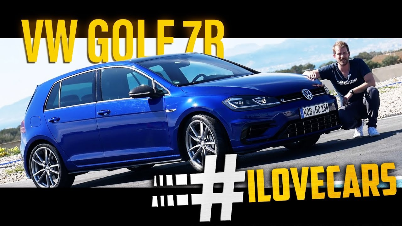 vw golf 7 r update 2017 test akrapovic ilovecars youtube. Black Bedroom Furniture Sets. Home Design Ideas