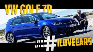 VW Golf 7 R Update 2017 Test Akrapovic - #ilovecars