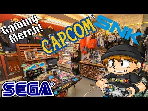 Sega, Capcom & SNK Merch in Akihabara!