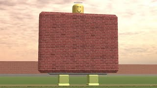THE WALL DANCE - Roblox Be a Wall!