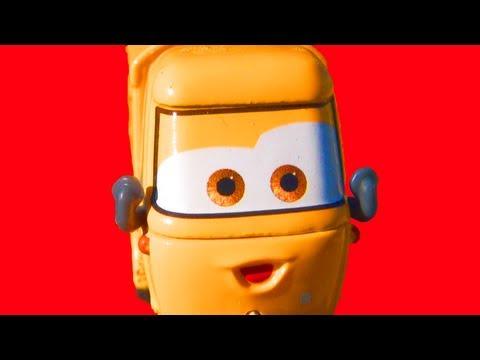 Cars 2 Race Team Mater Sal Machiani 2-pack diecasts Mattel Toys Disney Pixar Racing Play Toy Review