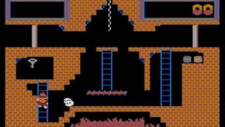 Atari XL/XE - Montezuma's Revenge (game)