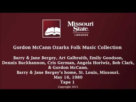McCann: Bergey, Galbraith, Goodson, Buckhannon, German, Horiwiz, Clark, McCann, May 16, 1980