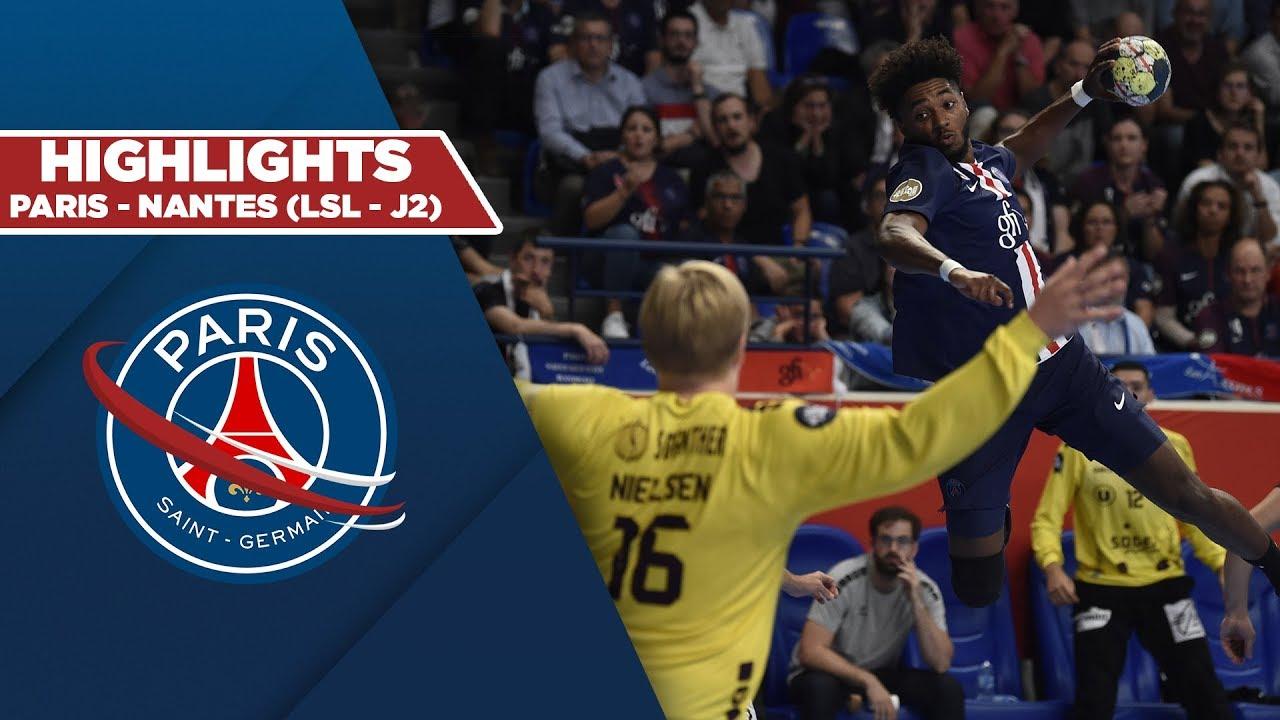 psg handball - nantes   le r u00e9sum u00e9