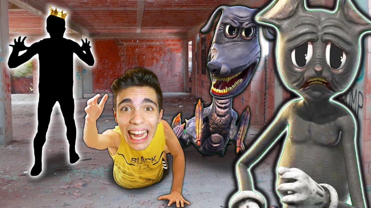 """""""RE MISTERO"""" MI DA IN PASTO ALL'EVOLUZIONE CATTIVA DI CARTOON DOG IN UNA CASA ABBANDONATA!😱*pauroso*"""