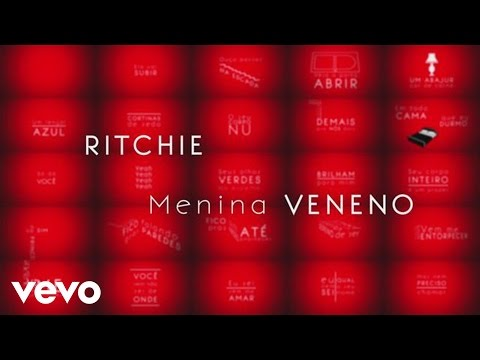 Ritchie - Menina Veneno (Lyric Video)