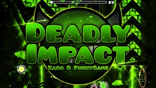Video Geometry Dash #50 - Deadly Impact COMPLETE download MP3, 3GP, MP4, WEBM, AVI, FLV Agustus 2017