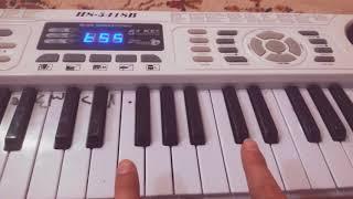 تعليم عزف اغنيه انتي بغيه واحد عله البيانو خطوه بخطوه راائع 😍