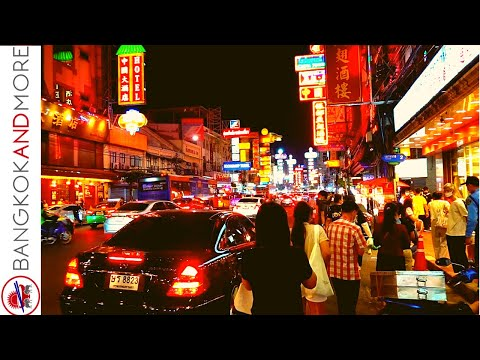 BANGKOK Chinatown Today - Before It Changes In 2021