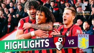 Bournemouth Vs. Aston Villa: 2-1 Goals & Highlights | Premier League | Telemundo Deportes