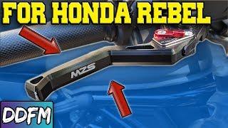 2018 Rebel 500 Adjustable Levers!