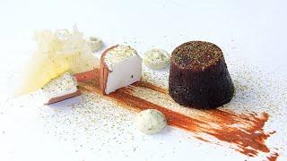 Шоколадный фондан / Chocolate lava cake