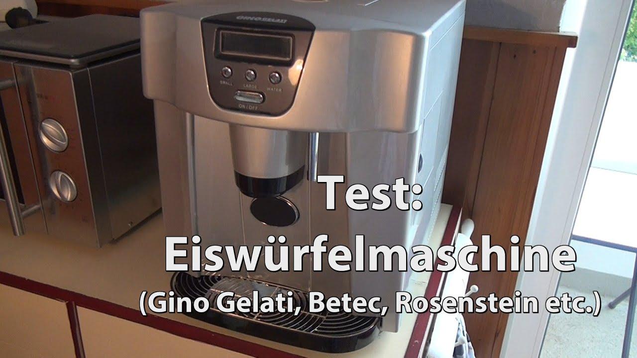 Side By Side Kühlschrank Test Chip : Test eiswürfelmaschine eiswürfel bereiter gino gelati betec