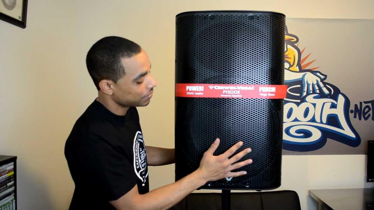 Cerwin-Vega P1500X P-Series 15-inch 2-way Powered Active Speaker Review