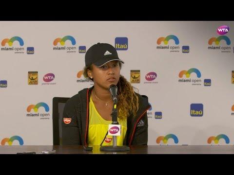 2018 Miami Day 4 | Naomi Osaka Press Conference