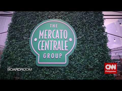 Mercato Centrale's RJ Ledesma speaks with CNN The BoardRoom's Anthony Pangilinan