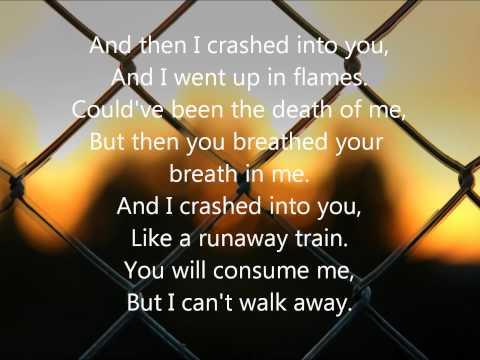 crashed by daughtry lyrics