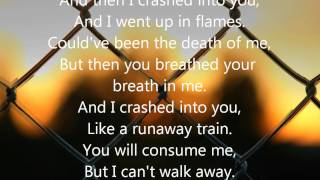 crashed by daughtry lyrics