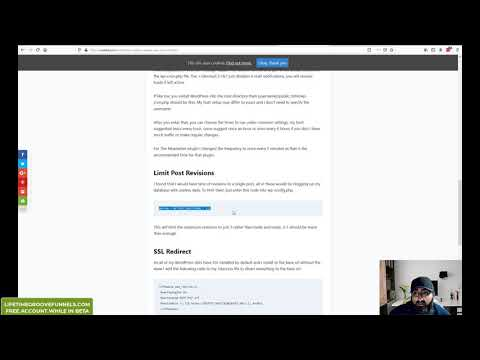WordPress Max Memory | Max Post Revisions | WP Cron | cPanel thumbnail
