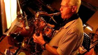 Sophisticated Lady Bill Carmichael sax solo Metro Connection jazz Group at Bacalao June 23rd 2009