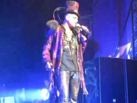 Adam Lambert - Voodoo, Down the Rabbit Hole, Ring of Fire - Milwaukee - 6-15-10