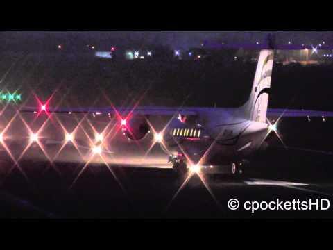 Dornier 328 Jet - Beautiful Last departure at night - Gloucestershire Airport *LIVE ATC*