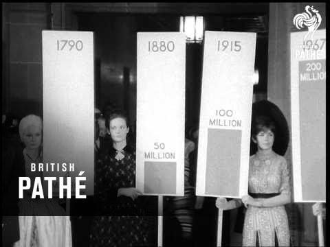 America Population Aka President Johnson Visits Census Bureau (1967)