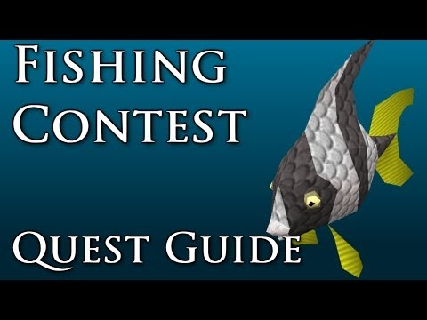 RSQuest: Fishing Contest Quest Guide [Runescape-RS3]