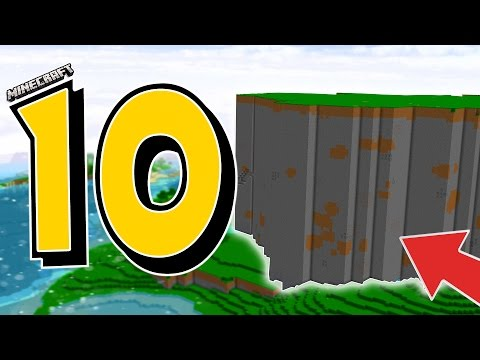 10 MINECRAFT FEATURES THAT WERE REMOVED!!