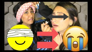 Blindfold CHALLENGE gone VERY WRONG !