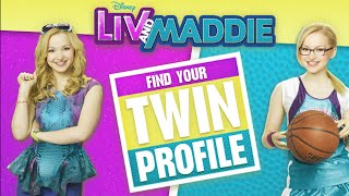 Liv and Maddie Movie Video Game - Find Your Twin Profile (Game for Girls)